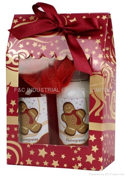 Toiletry gift set,shwer gel, Bath Set, body wash, body lotion 1