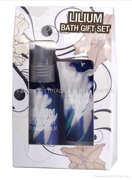 Shower Gel/Body Wash/Body Lotion/ Bath Set 1