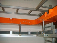 LP-GXCD—L系列鋁合金光纖槽道 尾纖槽 光纜布線槽