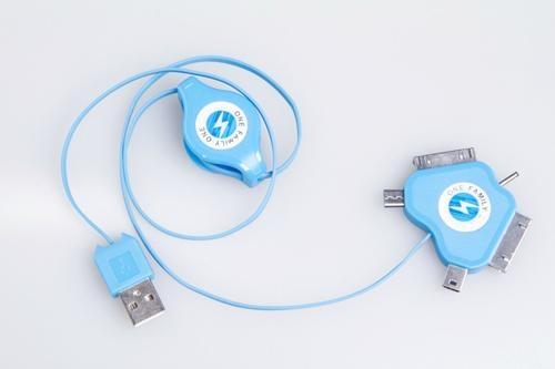 益加五合一多功能数据充电线 1