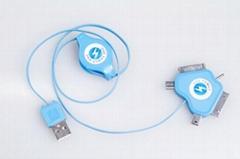 益加五合一多功能数据充电线
