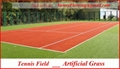 TENNIS artificial grass ( synthetic turf - artificial lawn ) 4