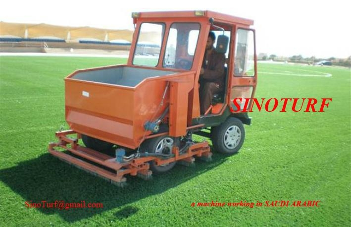 Artificial grass install machine 1