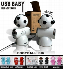 2012 Newest Doll shape USB speaker