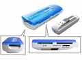 Hotsale usb all in one card reader