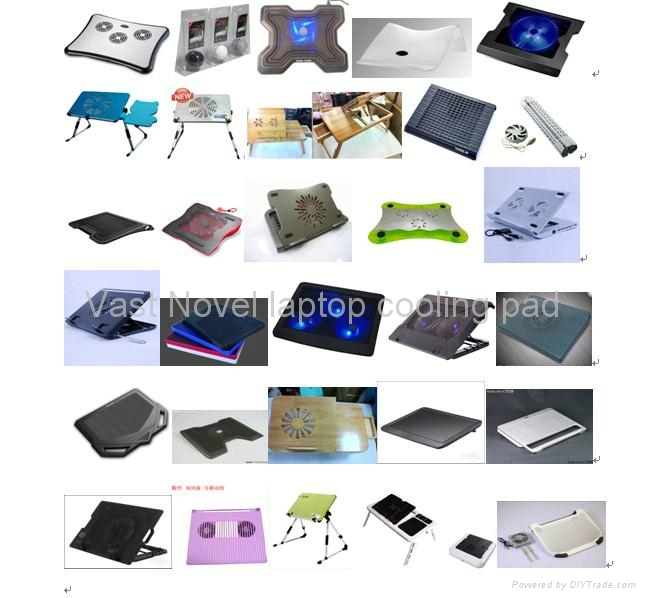 2012 New laptop cooling pad 5