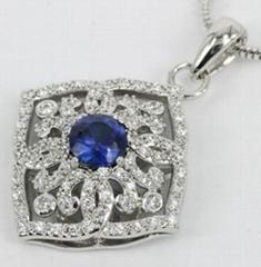 silver pendant jewellery