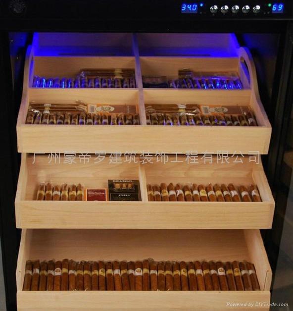 蒙帝罗实木雪茄柜 2
