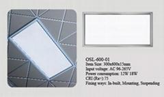Energy Saving Ceiling LED Panel Light 300*600 180LED 20W 3 years warranty panel