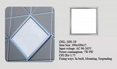 9W led panel light 300*300
