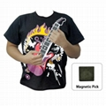 On Sale Musical Instruments Playable Electronic Guitar T-Shirt