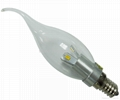 patent production 3W LED Candle Lamp  2