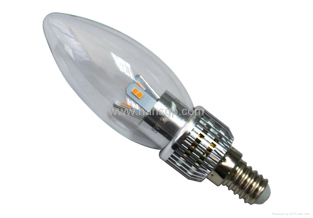 patent production 3W LED Candle Lamp  4