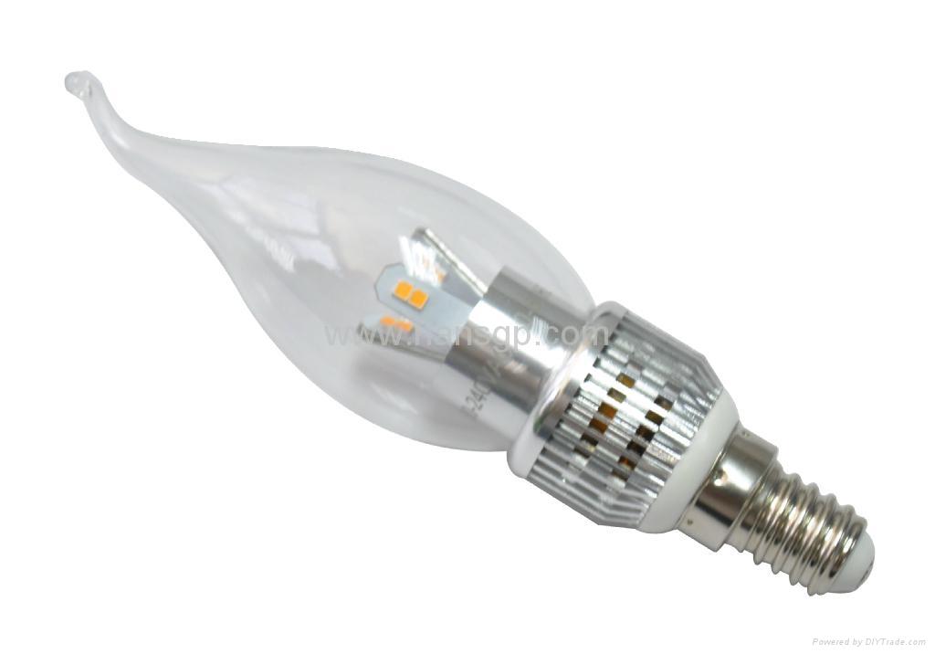 3W E14 LED candle light/ led candle lamp  2