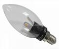 3W E14 LED candle light/ led candle lamp  3