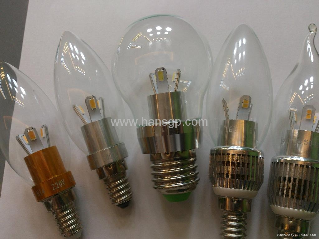 2012 HANSGP New LED Candle Lamp E14  4