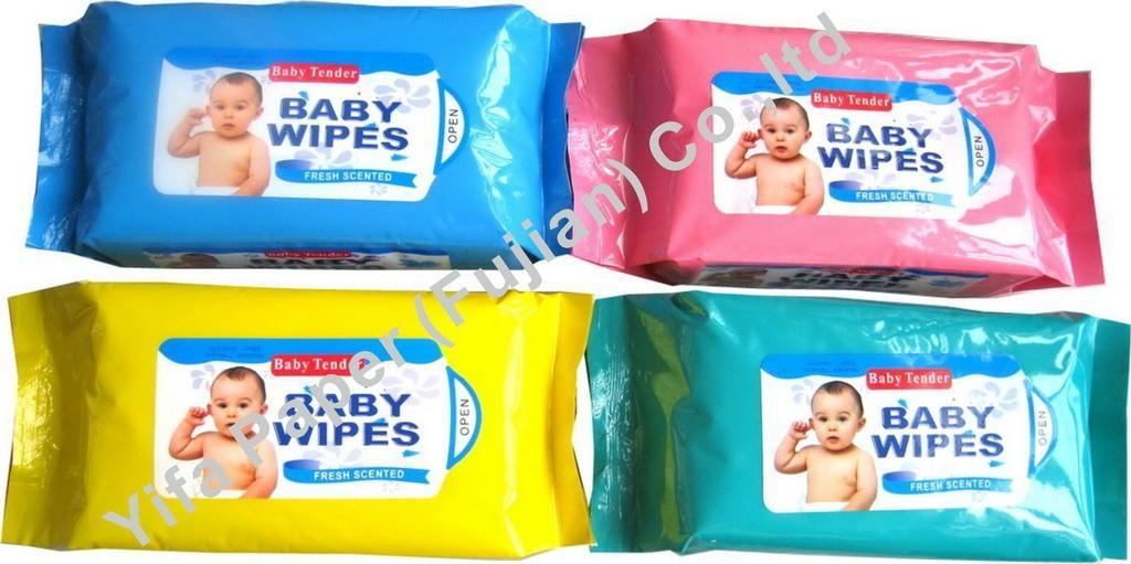 Baby Wet Wipes 1