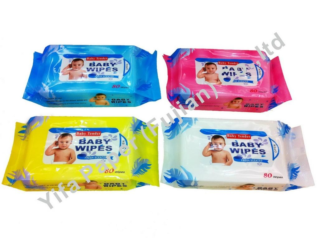 Baby Wet Tissue 1