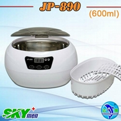 Deluxe ultrasonic cleaner JP-890(digital,600ml)