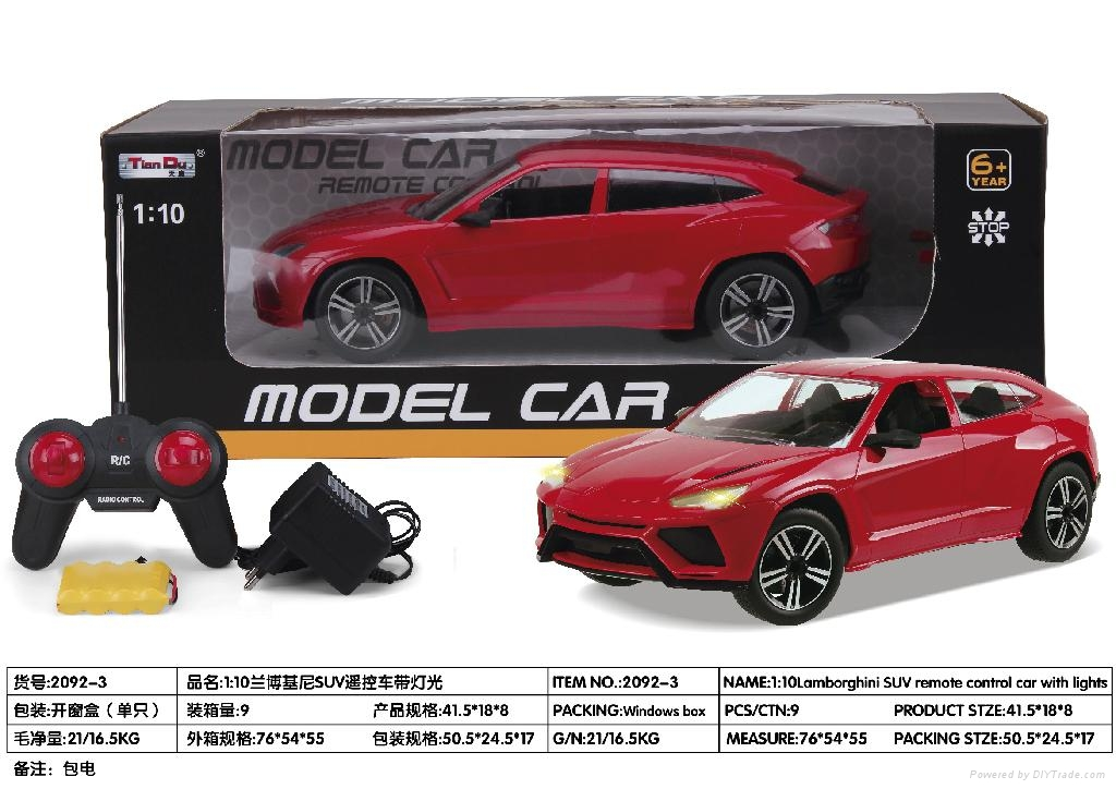 R/C model car with light and recharge battery 3