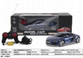1:18 r/c car model with light and recharger battery 2