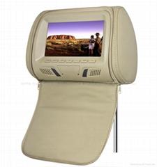 7inch headrest monitor