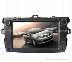 Corolla in dash dvd player with gps navigation