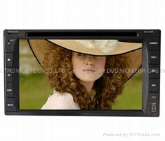6.2INCH IN DASH DVD PLAYER WITH GPS NAVIGATION