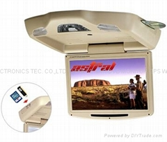 12inch roof mount dvd player with usb/sd/ir/fm/games