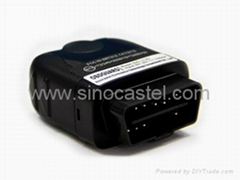 Vehicle OBD 2 plug gps tracking system