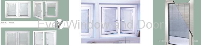 Blind Internal Insulated Glass Window 1