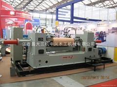 BQ12系列液壓單卡軸旋切機