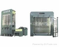 BY21系列橫向框架式熱壓機