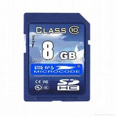 HD camera sdhc card 4GB to 32GB