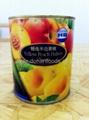 HB牌精选半边黄桃罐头 1