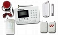 Cheap GSM alarm burglar system for home security with LCD display