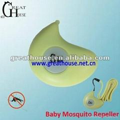 电子超声波驱蚊器 baby专用驱蚊器