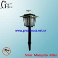 Garden Solar Mosquito Killer with LED lamp