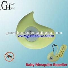 Baby驱蚊器 可做背包小挂件 家居小饰品