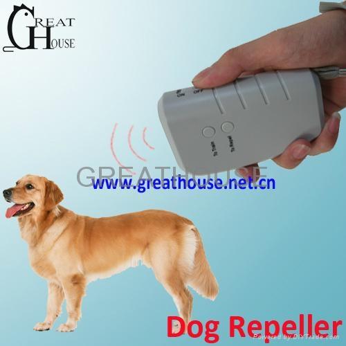 Ultrasonic Vibrarion Dog Repeller 3