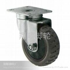 中型灰膠輪