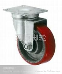中型鐵心聚氨酯輪