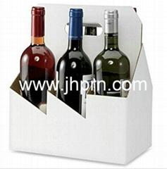 Elegant nice top grade France wine paper packaging box
