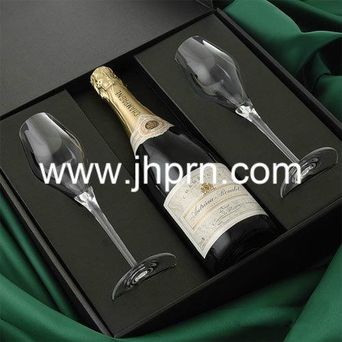 Elegant nice top grade France wine paper packaging box 2