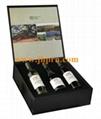 Cardboard paper gift wine set box