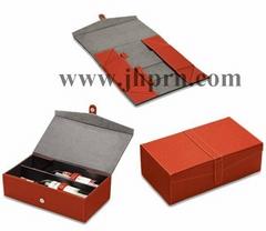 Easy taken cardboard foldable paper wine packaging box