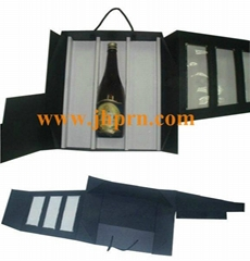 2012 top sale wine paper packaging box with lid