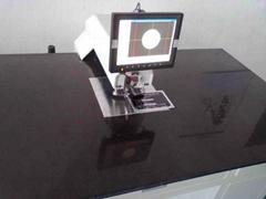 不干胶自动定位快速冲孔机