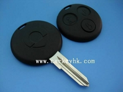 Smart car key shell 3 button