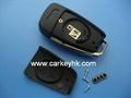 Audi A6L  3 buttons remote key shell 2